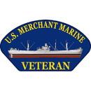 Eagle Emblems PM1382 Patch-Uss, Merchant Marine (3