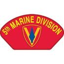 Eagle Emblems PM1389 Patch-Usmc, Hat, 005Th Div. (3