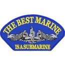 Eagle Emblems PM1399 Patch-Usn, Hat, Best Marine (3