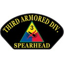 Eagle Emblems PM1406 Patch-Army, Hat, 003Rd Arm (3