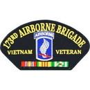 Eagle Emblems PM1419 Patch-Viet, Hat, Army, 173Rd A/B (3