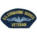 Eagle Emblems PM1428 Patch-Usn, Hat, Submarine Svc.Veteran (3