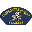 Eagle Emblems PM1429 Patch-Usn, Hat, Seabees (3