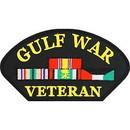 Eagle Emblems PM1449 Patch-Gulf War, Hat, Vet. (3