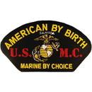 Eagle Emblems PM1487 Patch-Usmc, Hat, By Choice (3