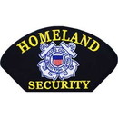 Eagle Emblems PM1495 Patch-Uscg, Homeland Sec. (3