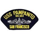 Eagle Emblems PM1551 Patch-Uss, Pampanito (3