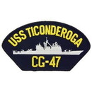 Eagle Emblems PM1569 Patch-Uss, Ticonderoga (3
