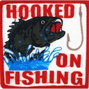 Eagle Emblems PM3007 Patch-Fish, Hooked On (3