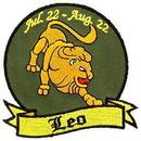 Eagle Emblems PM3031 Patch-Sign, Leo (3-1/4