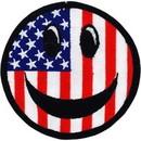 Eagle Emblems PM3081 Patch-Smiley Face, Rwb (3