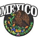 Eagle Emblems PM3093 Patch-Mexico, Eagle (3-1/4