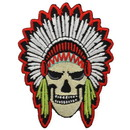 Eagle Emblems PM3118 Patch-Skull, Chief (3-1/4