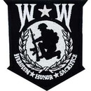 Eagle Emblems PM3161 Patch-Wounded Warrior, (3