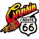 Eagle Emblems PM3173 Patch-Route 66, Cruisin (3