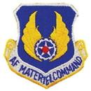 Eagle Emblems PM3503 Patch-Usaf, Materiel Cmd. (Shield) (3
