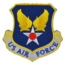 Eagle Emblems PM3554 Patch-Usaf, Us Air Force          (Shld) (3