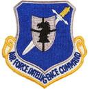 Eagle Emblems PM3556 Patch-Usaf, Intelligence Cmd (3