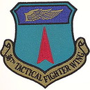 Eagle Emblems PM3559 Patch-Usaf, 036Th Tact.Fgt (Subdued) (3