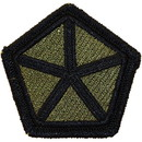 Eagle Emblems PM3630 Patch-Army, 005Th Corps (Subdued) (3