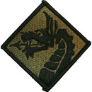 Eagle Emblems PM3632 Patch-Army, 018Th Corps (Subdued) (3