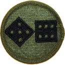 Eagle Emblems PM3676 Patch-Army, 011Th Corps (Subdued) (3