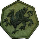 Eagle Emblems PM3755 Patch-Army, 108Th Inf.Div. (Subdued) (3