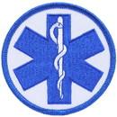 Eagle Emblems PM3957 Patch-Ems, Logo-Plain (Staff Of Asclepius) (3
