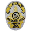 Eagle Emblems PM4044 Patch-Pol, California, La Swat (3-1/2