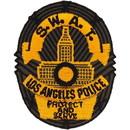 Eagle Emblems PM4049 Patch-Pol, California, La Swat (Subdued) (3-1/2
