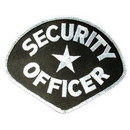 Eagle Emblems PM4075 Patch-Security, Officer (4-1/4