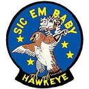 Eagle Emblems PM5023 Patch-Usn, Tomcat, Sic Em B (3-3/8