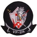 Eagle Emblems PM5026 Patch-Usn, Tomcat, Vf-24 (3-3/8