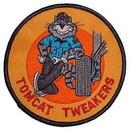 Eagle Emblems PM5075 Patch-Usn, Tomcat, Tweaker (3