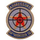 Eagle Emblems PM5085 Patch-Usaf, 064Th Aggs Sq. (3-1/2