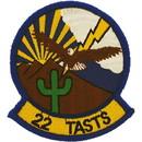 Eagle Emblems PM5091 Patch-Usaf, 022Nd Tasts (3