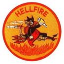 Eagle Emblems PM5111 Patch-Usmc, Hell Fire (3
