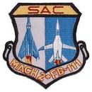 Eagle Emblems PM5114 Patch-Usaf, Sac, Mach-2Fb11 (3
