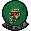Eagle Emblems PM5119 Patch-Usn, Tomcat, Now Baby (3-3/8