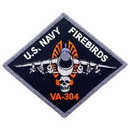 Eagle Emblems PM5201 Patch-Usn, Va-304 Firebird (3-1/2