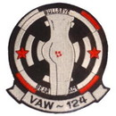 Eagle Emblems PM5257 Patch-Usn, Vaw-124 (3-3/8