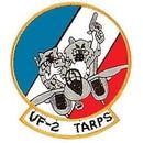 Eagle Emblems PM5292 Patch-Usn, Tomcat, Vf-02 (3-3/8