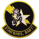 Eagle Emblems PM5342 Patch-Usn, Tomcat, Starwars (3-3/8