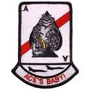 Eagle Emblems PM5343 Patch-Usn, Tomcat, Ace'S Ba (3-1/2