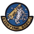 Eagle Emblems PM5346 Patch-Usn, Tomcat, Every Ti (3-1/2