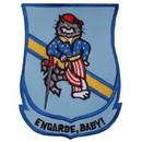 Eagle Emblems PM5349 Patch-Usn, Tomcat, Engarde (3-1/2
