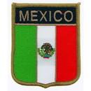 Eagle Emblems PM6271 Patch-Mexico (Shield) (2-1/2