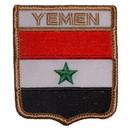 Eagle Emblems PM6378 Patch-Yemen (Shield) (2-1/2
