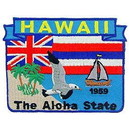 Eagle Emblems PM6712 Patch-Hawaii (State Map) (3