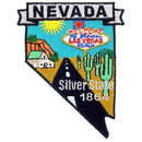 Eagle Emblems PM6729 Patch-Nevada (State Map) (3